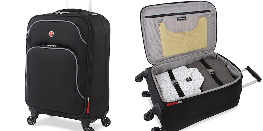 SwissGear 20-Inch Nyon Soft-Sided Carry-On (Photo: Amazon)