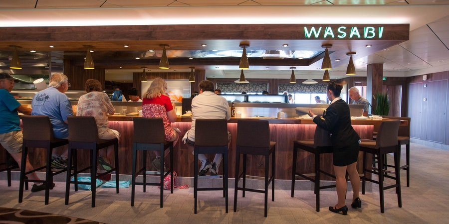 Wasabi on Norwegian Getaway (Photo: Cruise Critic)