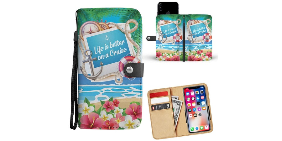 Life is Better on a Cruise Wallet Phone Case  (Photo: Amazon)