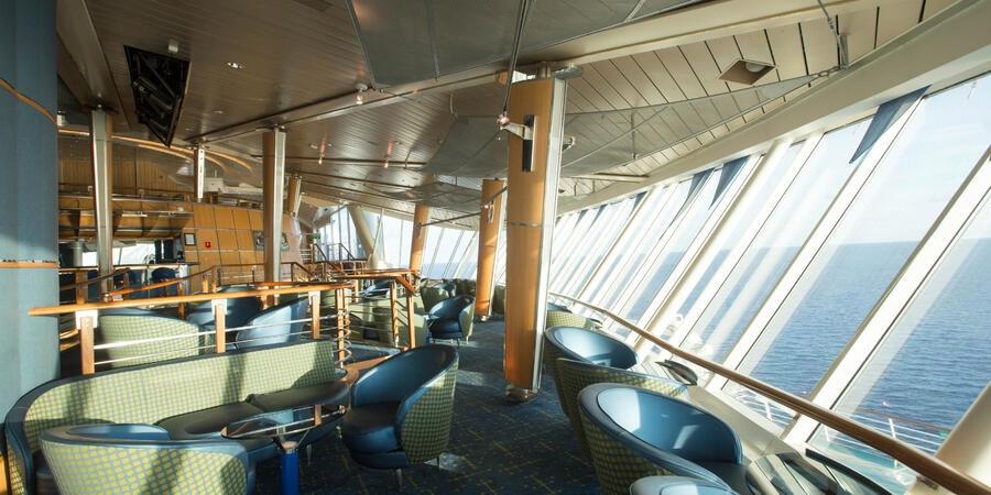 Viking Crown Lounge on Royal Caribbean Cruises