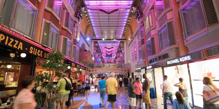 Royal Promenade on Freedom of the Seas (Photo: Cruise Critic)
