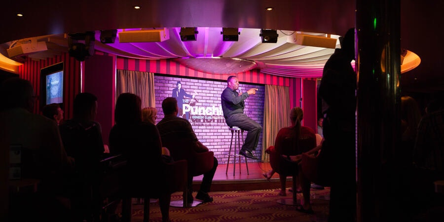 Punchliner Comedy Club on Carnival Cruise Line