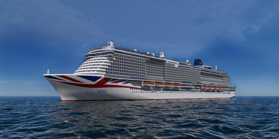 P&O Cruises To Take Delivery Of Iona Before Autumn; Second Ship Coming in late 2022