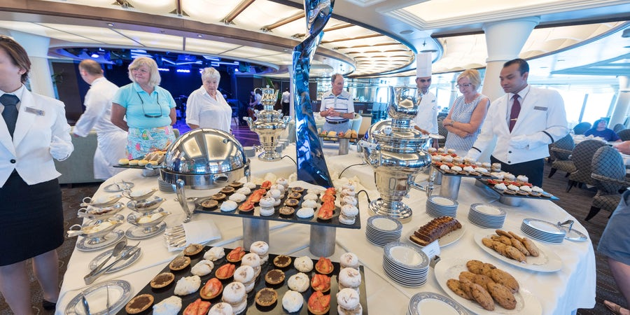 Best Afternoon Tea on Cruises
