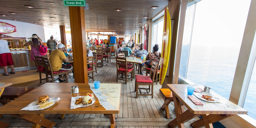 Guy's Burger Joint on Carnival Freedom