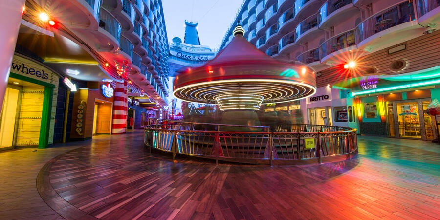 The Boardwalk on Oasis of the Seas (Photo: Cruise Critic)