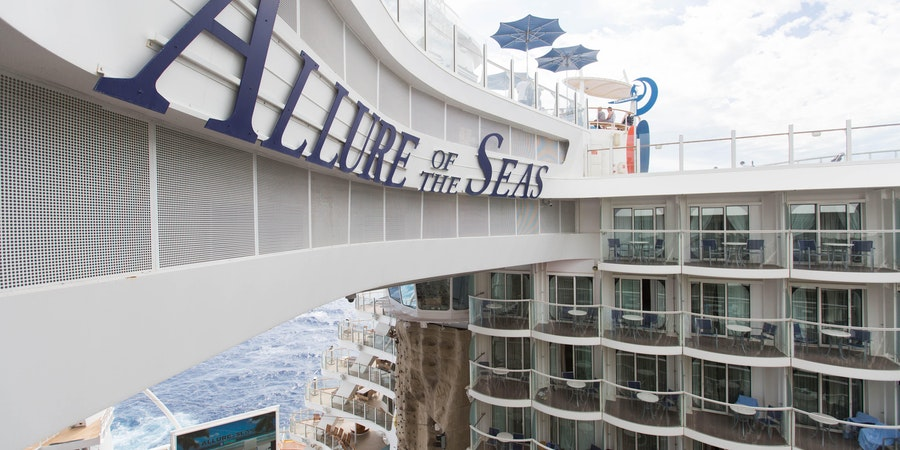 The Boardwalk-View Balcony Cabin on Allure of the Seas