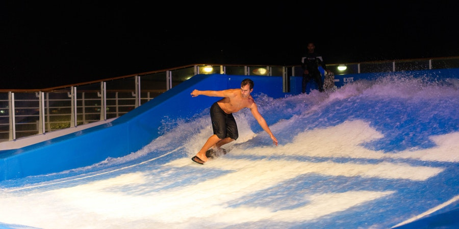 FlowRider on Allure of the Seas (Photo: Cruise Critic)