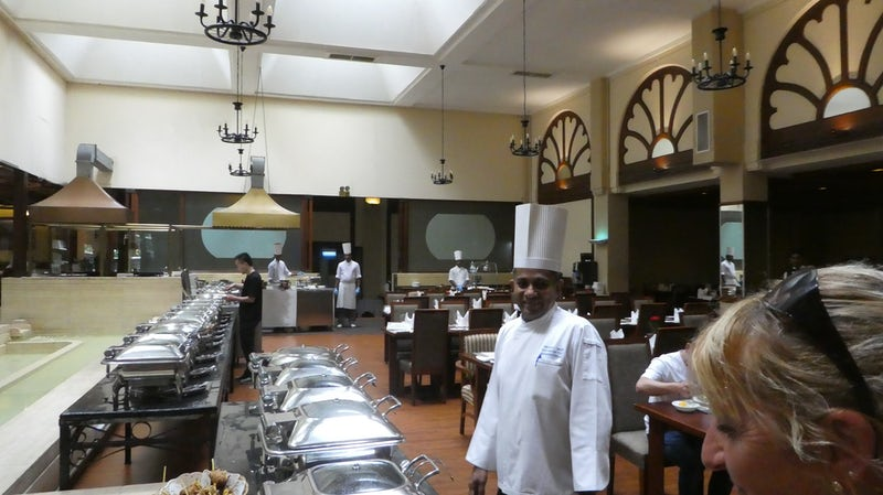 Wonderful buffet was offered during this tour of SirLanka