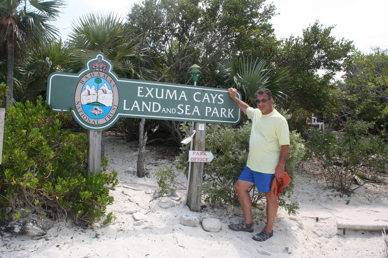 Exuma Land and Sea Park, Great Exuma, Bahamas