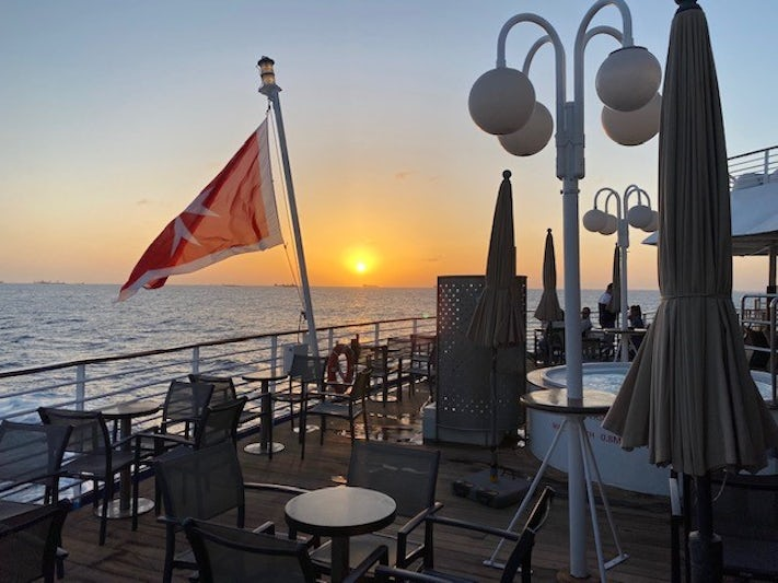 Sunset - Thalassus bar
